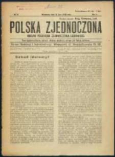 Polska Zjednoczona. R. 2, No 28 (1919)