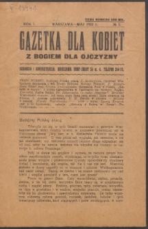 Gazetka dla Kobiet. R.1, No 3 (1923)