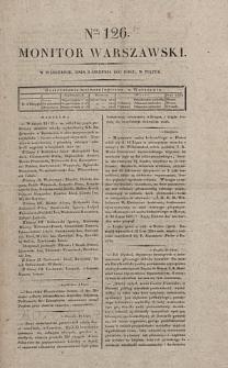 Monitor Warszawski. Nr 126 (1827)