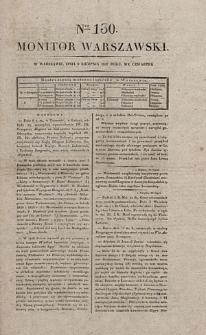 Monitor Warszawski. Nr 130 (1827)