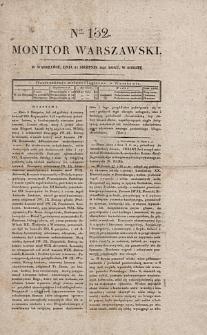 Monitor Warszawski. Nr 132 (1827)