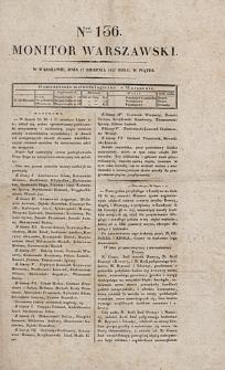 Monitor Warszawski. Nr 136 (1827)