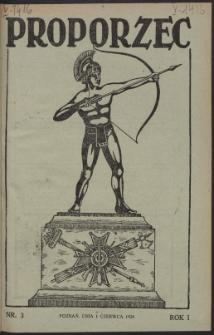 Proporzec. R.1, Nr 3 (1926)