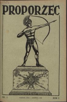 Proporzec. R.1, Nr 5 (1926)