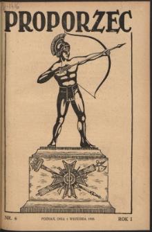 Proporzec. R.1, Nr 6 (1926)