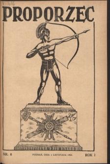 Proporzec. R.1, Nr 8 (1926)
