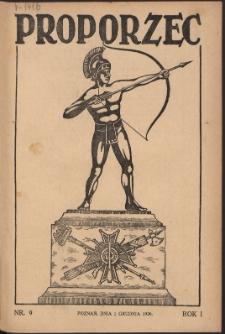 Proporzec. R.1, Nr 9 (1926)