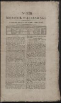 Monitor Warszawski. Nr 229 (1827)