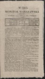 Monitor Warszawski. Nr 143 (1827)
