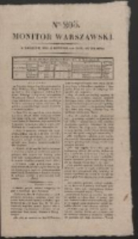 Monitor Warszawski. Nr 203 (1827)