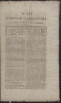 Monitor Warszawski. Nr 211 (1827)