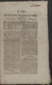 Monitor Warszawski. Nr 220 (1827)