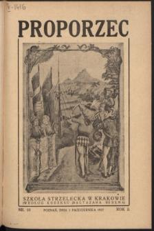 Proporzec. R.2, Nr 10 (1927)