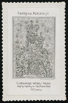 Pamiątka Koronacyi Cudownego obrazu Najśw. Maryi Panny w Kochawinie 1912 roku [Dokument ikonograficzny]