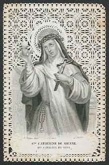 Ste Catherine de Sienne : Sta Catalina de Sena [Dokument ikonograficzny]
