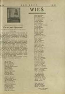 """Wieś : dodatek do """"Ludu Bożego"""". R. 17, nr 44 (1924)"""