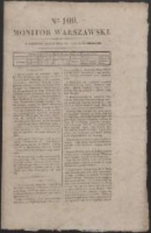 Monitor Warszawski. Nr 109 (1827)