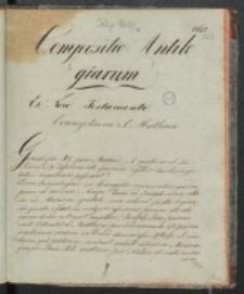 Compositio Antilogiarum ex Novo Testamento