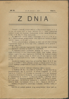 Z Dnia. R. 1, No 13 (1917)