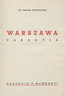 Warszawa = Varsovie
