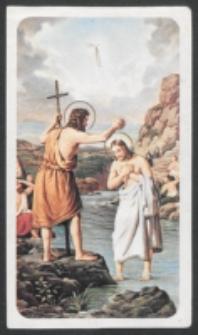 [Chrzest Jezusa] : [zespół obrazków religijnych] [Dokument ikonograficzny]