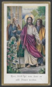 [Chrystus z uczniami] : [zespół obrazków religijnych] [Dokument ikonograficzny]