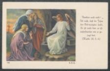 [Trzy Marie u grobu] : [obrazek religijny] [Dokument ikonograficzny]
