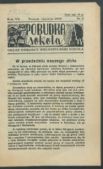 Pobudka Sokola : organ Dzielnicy Wielkopolskiej Związku Towarzystw Gimn. Sokół : miesięcznik Sokolic. R. 7, Nr 6 (1939)