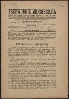 """Przewodnik Miłosierdzia : miesięcznik Związku Towarzystw Dobroczynności """"Caritas"""" i Rad Wyższych Kongregacji św. Wincentego à Paulo męskich i żeńskich. R. 9, Nr 2 (1930)"""