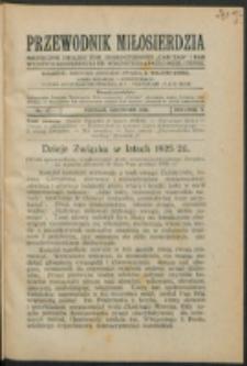 """Przewodnik Miłosierdzia : miesięcznik Związku Towarzystw Dobroczynności """"Caritas"""" i Rad Wyższych Kongregacji św. Wincentego à Paulo męskich i żeńskich. R. 5, Nr 12 (1926)."""