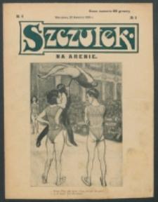 Szczutek. Nr 4 (1906)