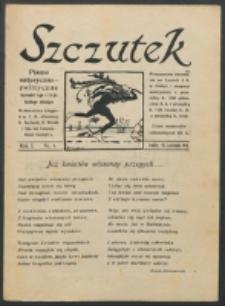 Szczutek. R. 1, nr 4 (1918)