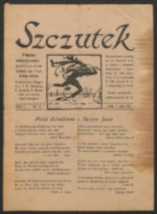 Szczutek. R. 1, nr 5 (1918)