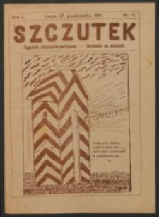 Szczutek. R. 1, nr 17 (1918)