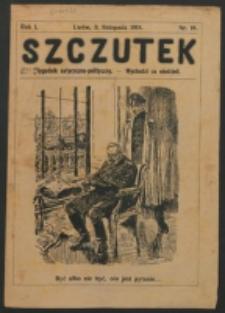Szczutek. R. 1, nr 18 (1918)