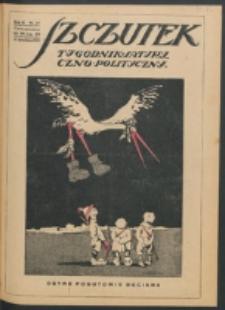 Szczutek. R. 2, nr 17 (27 kwietnia 1919)