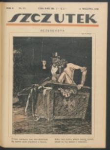 Szczutek. R. 2, nr 37 (1919)