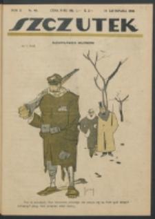 Szczutek. R. 2, nr 46 (1919)