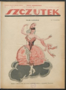 Szczutek. R. 4 , nr 4 (1921)