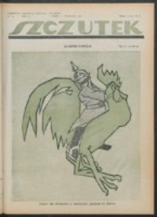 Szczutek. R. 4 , nr 15 (1921)