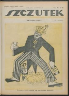 Szczutek. R. 4 , nr 16 (1921)