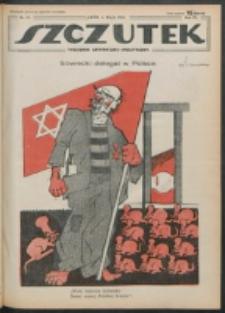 Szczutek. R. 4 , nr 19 (1921)