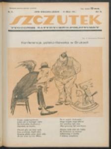Szczutek. R. 4 , nr 21 (1921)