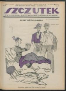 Szczutek. R. 4, nr 25 (1921)