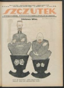 Szczutek. R. 4, nr 38 (1921)