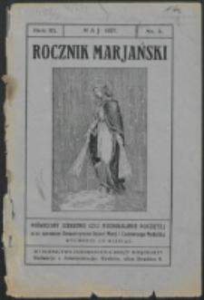 Rocznik Mariański. R. 3, nr 5 (1927)
