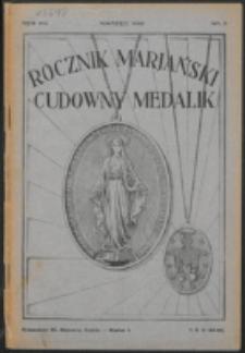 Rocznik Mariański. R. 8, nr 3 (1932)