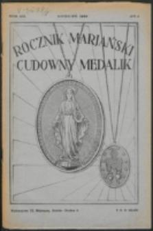 Rocznik Mariański. R. 8, nr 4 (1932)