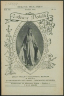 Rocznik Mariański. R. 8, nr 8 (1932)