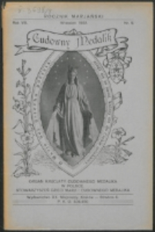 Rocznik Mariański. R. 8, nr 9 (1932)